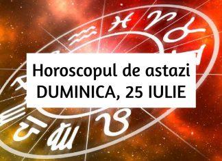 horoscop zilnic duminica 25 iulie